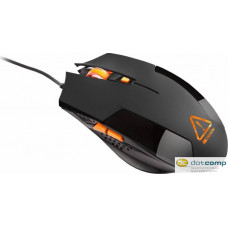 CANYON Optical gaming mouse, adjustable DPI setting 800/1200/1600/2400, LED backlight, Black CND-SGM2